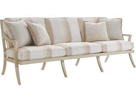 Tommy Bahama Outdoor Misty Garden Cast Aluminum Sofa
