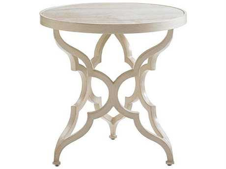 Tommy Bahama Outdoor Misty Garden Cast Aluminum 23'' Round Accent Table Base