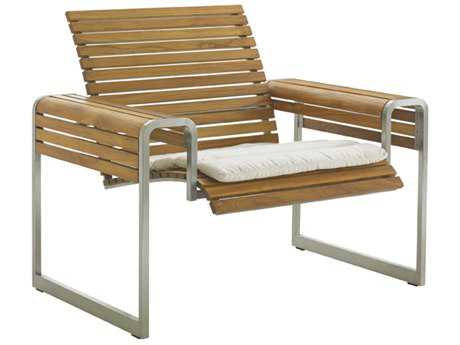 Tommy Bahama Outdoor Tres Chic Steel Teak Lounge Chair