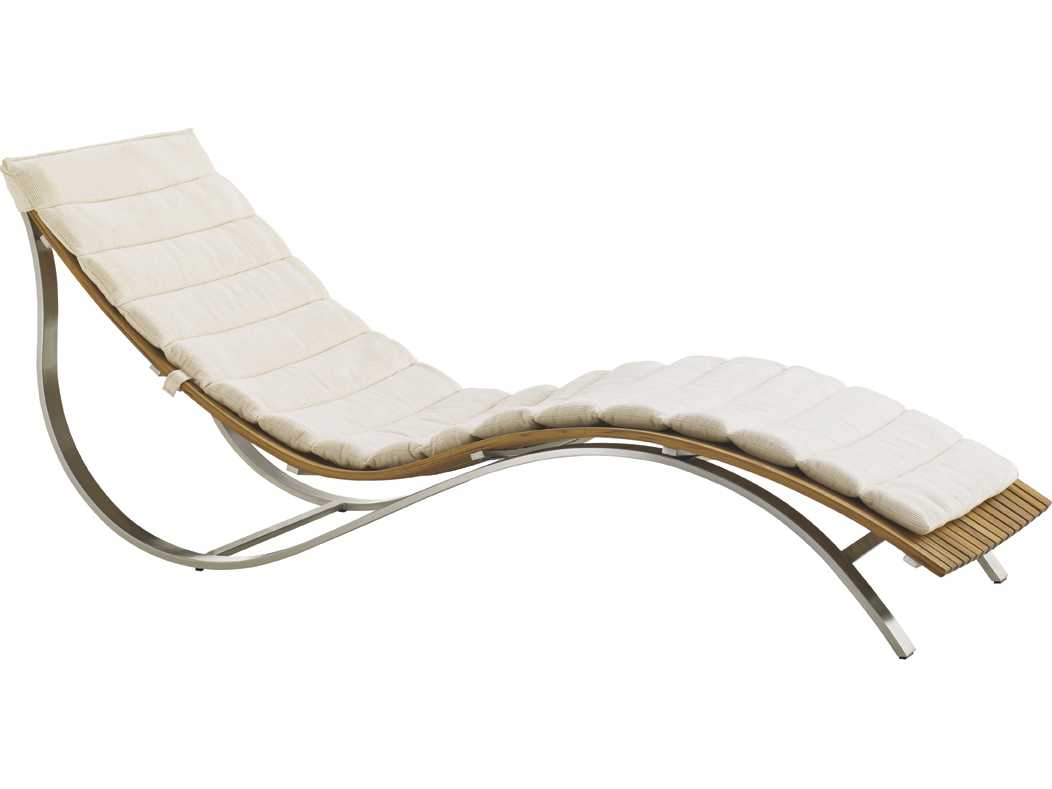 tommy bahama outdoor tres chic steel teak chaise lounge. Black Bedroom Furniture Sets. Home Design Ideas
