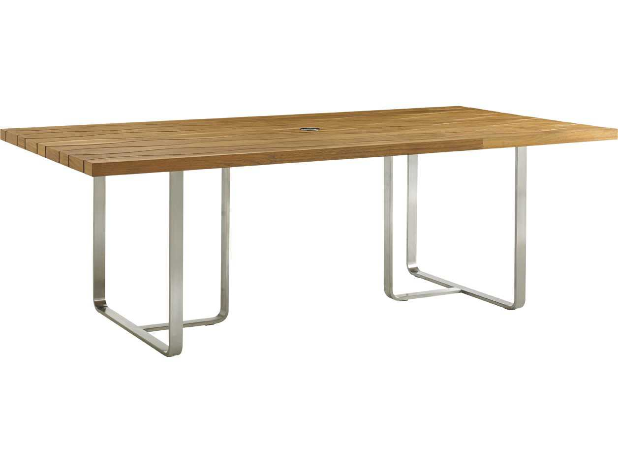 Tommy Bahama Outdoor Tres Chic Stee 2 Rectangular Dining