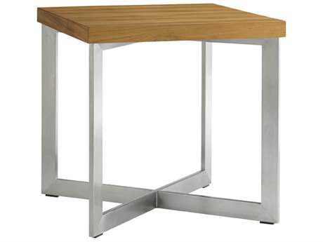 Tommy Bahama Outdoor Tres Chic Steel 22'' Square End Table
