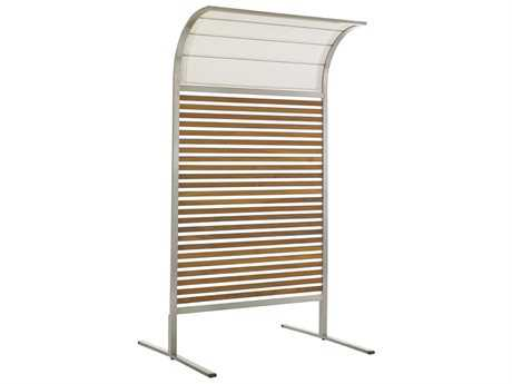 Tommy Bahama Outdoor Tres Chic Steel Teak Screen
