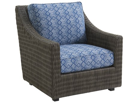Tommy Bahama Outdoor Cypress Point Ocean Terrace Wicker Lounge Chair