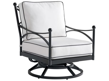 Tommy Bahama Outdoor Pavlova Aluminum Swivel Lounge Chair with Cushion Set