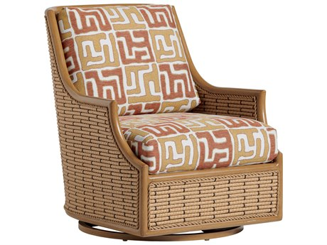 Tommy Bahama Outdoor Los Altos Valley View Wicker Swivel Glider Lounge Chair