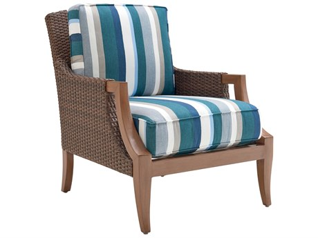 Tommy Bahama Outdoor Harbor Isle Wicker Lounge Chair