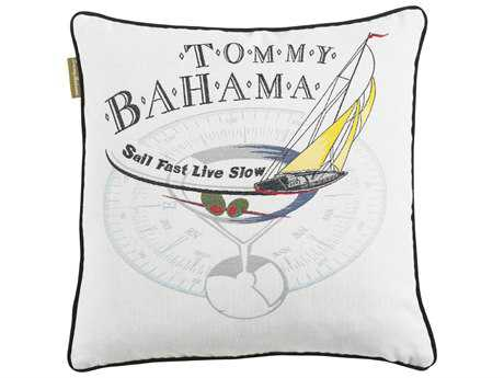 Tommy Bahama Outdoor Paradise 18'' x 18'' Sail Fast Pillow