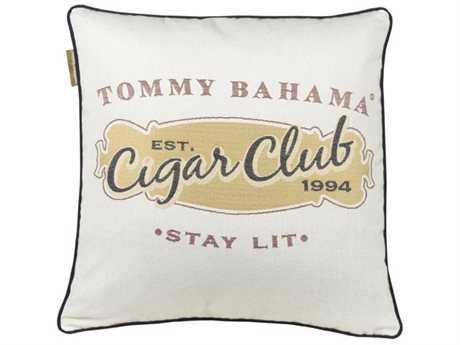 Tommy Bahama Outdoor Paradise 18'' x 18'' Cigar Club Pillow