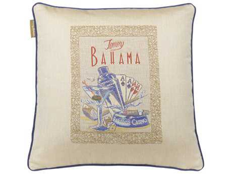 Tommy Bahama Outdoor Paradise 18'' x 18'' Paradise 18'' x 18''Casino (Fresco) Pillow