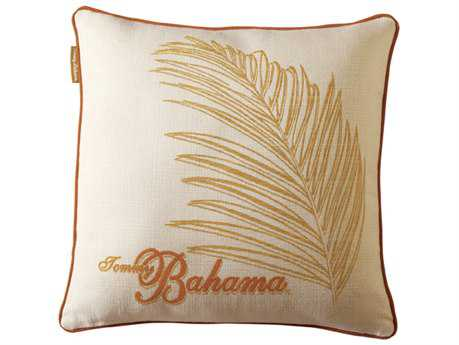 Tommy Bahama Outdoor Paradise 18'' x 18'' Salmon Pillow PatioLiving