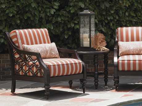 Tommy Bahama Outdoor Black Sands Cast Aluminum Lounge Set