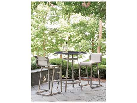 Tommy Bahama Outdoor Del Mar Cast Aluminum Bar Dining Set