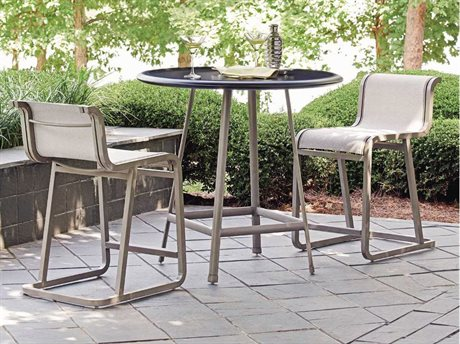 Tommy Bahama Outdoor Del Mar Cast Aluminum Counter Dining Set