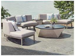 Del Mar Cast Aluminum Conversation Lounge Set