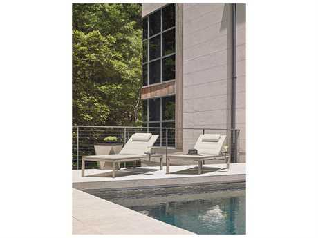 Tommy Bahama Outdoor Del Mar Hamptons Cast Aluminum Pool  Lounge Set