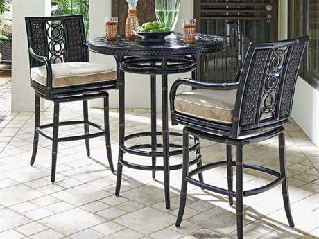Tommy Bahama Outdoor Marimba Wicker Bar Set