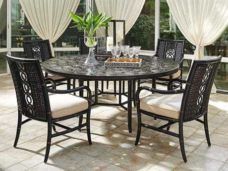 Tommy Bahama Outdoor Marimba Wicker Dining Set TRMRMBDIN3