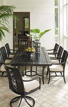 Tommy Bahama Outdoor Marimba Wicker Dining Set TRMRMBDIN4