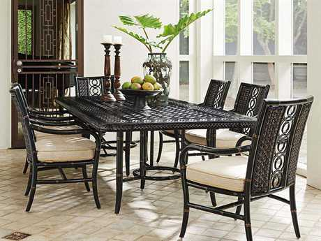 Tommy Bahama Outdoor Marimba Wicker Dining Set TRMRMBDIN7