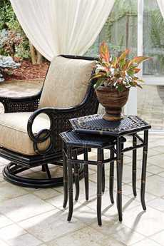 Tommy Bahama Outdoor Marimba Wicker Lounge Set TRMRMBLNG
