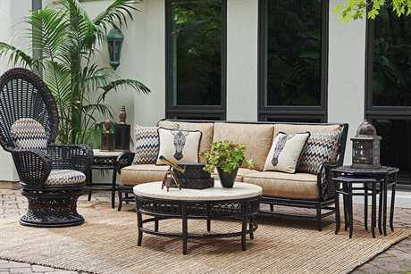 Tommy Bahama Outdoor Marimba Wicker Lounge Set TRMRMBLNG15