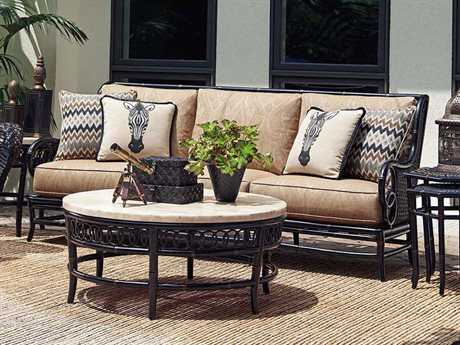 Tommy Bahama Outdoor Marimba Wicker Lounge Set TRMRMBLNG16