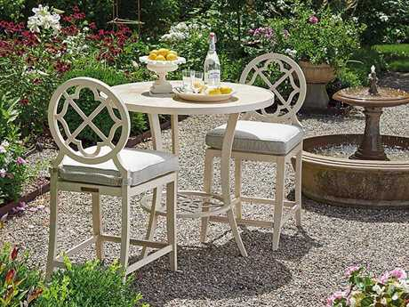 Tommy Bahama Outdoor Misty Garden Cast Aluminum Counter Height Set PatioLiving