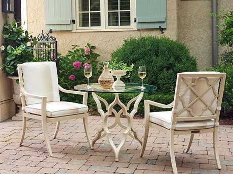 Tommy Bahama Outdoor Misty Garden Cast Aluminum Dining Set