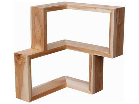 Tronk Design Frankiln Maple Wall Shelf