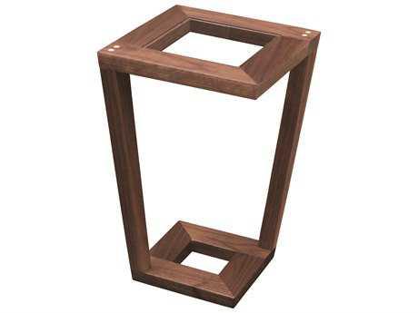 Tronk Design Harris Walnut 12'' Square End Table