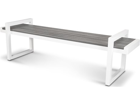 Trex® Outdoor Furniture Century 72'' Bench in Satin White