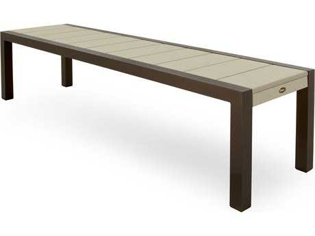 Trex® Surf City Recycled Plastic 68 Bench