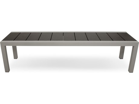 Trex® Outdoor Furniture Surf City 68'' Bench in Textured Silver