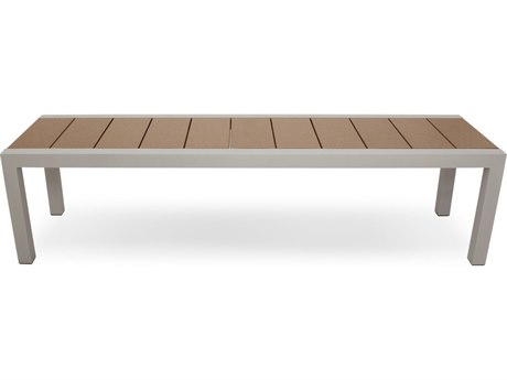 Trex® Outdoor Furniture Surf City 68'' Bench in Textured Silver / Tree House