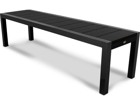 Trex® Outdoor Furniture Surf City 68'' Bench in Textured Black