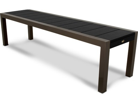 Trex® Outdoor Furniture Surf City 68'' Bench in Textured Bronze