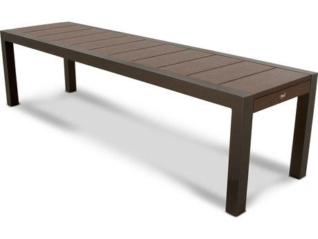 Trex® Outdoor Furniture Surf City 68'' Bench in Textured Bronze / Vintage Lantern