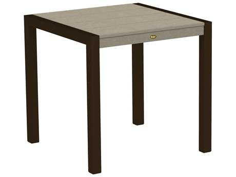 Trex® Surf City Recycled Plastic 30 Square Dining Table