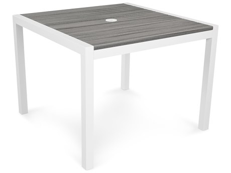 Trex® Outdoor Furniture Harvest 39'' x 39'' Dining Table in Satin White