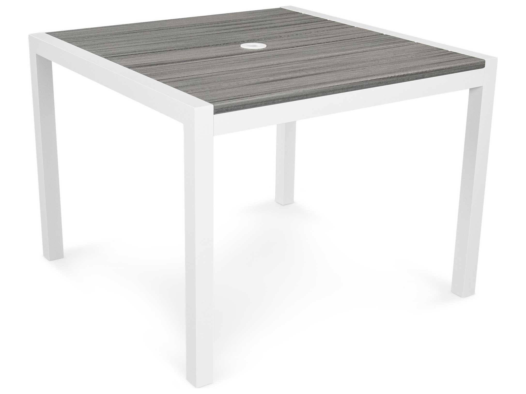 Trex 174 Parsons Recycled Plastic Harvest 39 Square Dining