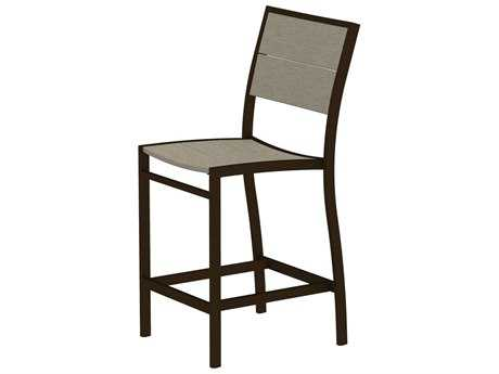 Trex® Surf City Recycled Plastic Counter Side Chair
