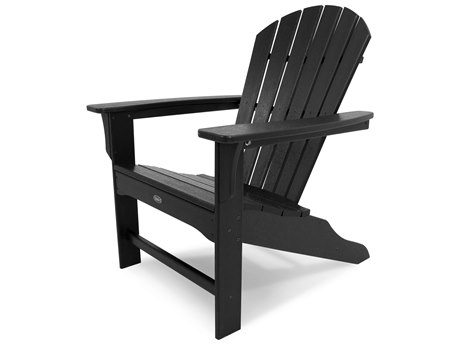 Trex® Outdoor Furniture Yacht Club Shellback Adirondack Chair in Charcoal Black