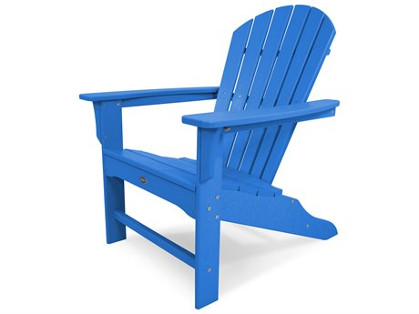 Trex® Outdoor Furniture Yacht Club Shellback Adirondack Chair in Pacific Blue