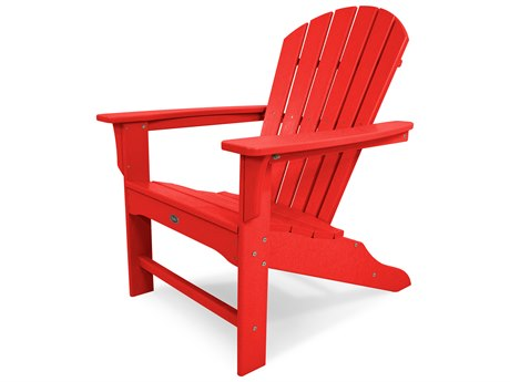 Trex® Outdoor Furniture Yacht Club Shellback Adirondack Chair in Sunset Red