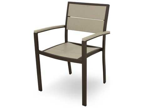 Trex® Surf City Recycled Plastic Dining Arm Chair
