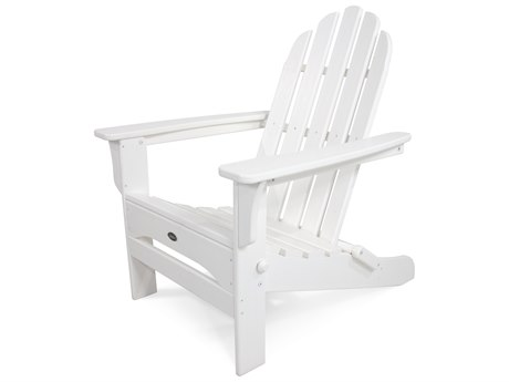 Trex® Outdoor Furniture Cape Cod Folding Adirondack in Classic White