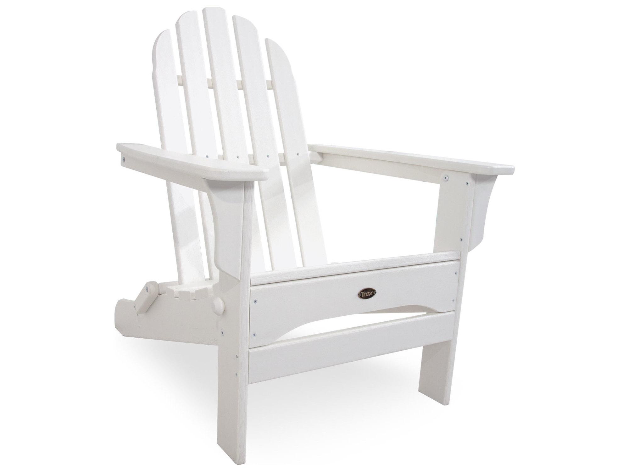 Trex 174 Outdoor Furniture Cape Cod Folding Adirondack In