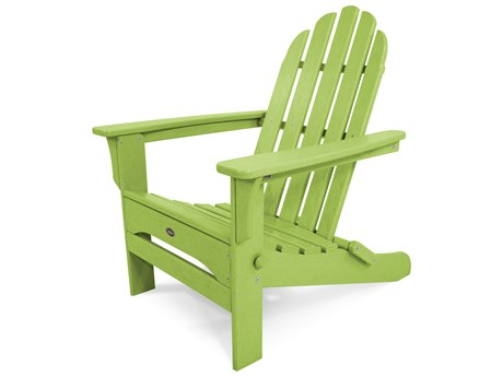 Trex® Outdoor Furniture Cape Cod Folding Adirondack in Lime