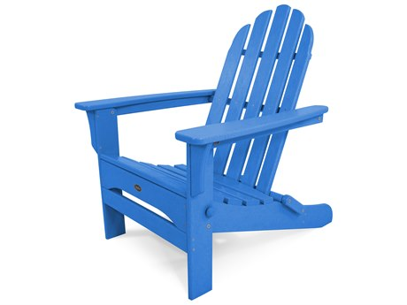 Trex® Outdoor Furniture Cape Cod Folding Adirondack in Pacific Blue